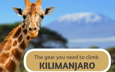 Packing list Kilimanjaro