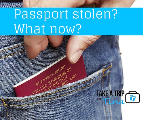 What to do when your passport has been stolen?