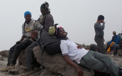 Our climb & the importance of the porters of Mount Kilimanjaro